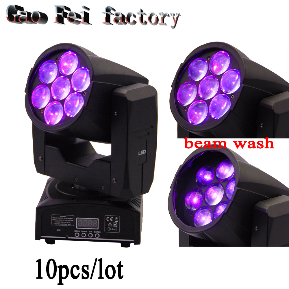 10pcs/lot China Led Moving Head 7x12w Rgbw 4IN1 Wash Zoom Professional Stage Lighting Display10pcs/lot China Led Moving Head 7x12w Rgbw 4IN1 Wash Zoom Professional Stage Lighting Display