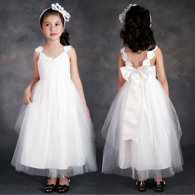 Multiple Colour Flower Girls Dresses For Wedding Gowns Long First Communion Dresses for Girls A-Line Mother Daughter Gowns first line therapy in multiple myeloma