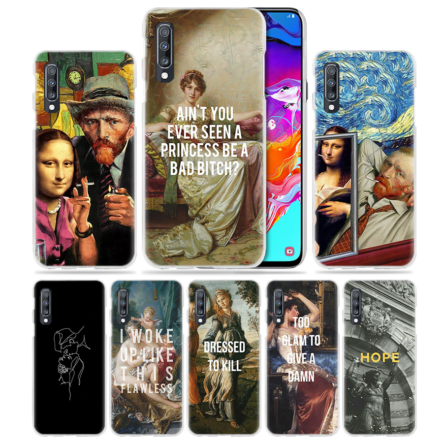 Doctor Who Van Gogh Art Fashion Transparent Case For Samsung Galaxy A3 A5 A9 A7 A6 A8 Plus 2018 2017 2016 Star A6s Note9 8 Cover Cellphones & Telecommunications