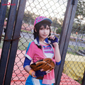 Amor Vivo Yazawa Nico Cosplay Lovelive Anime Despertar Idolatrado Jersey de Béisbol Uniforme Traje Rosa