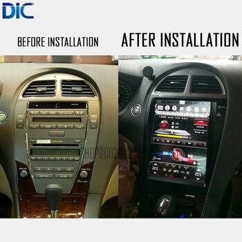 DLC Android system Navigation GPS player Video autoradio Steering-Wheel bluetooth For lexus 2006-2012 ES 240 250 300 350