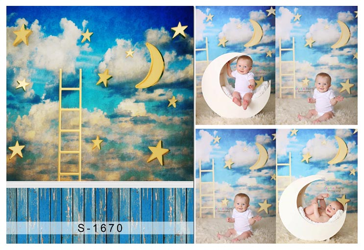 Thin vinyl Photography Children Theme backgrounds Computer Printed Newborn Backgrounds for Photo studio s-1670