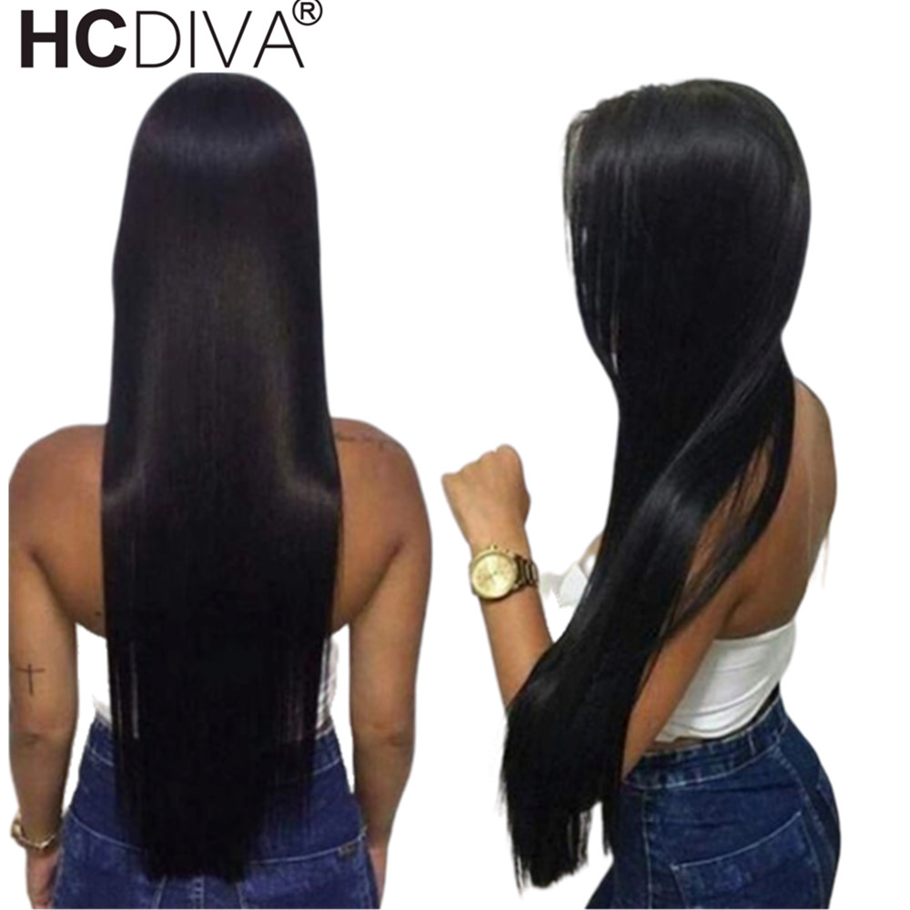 360 Lace Frontal Wig Straight Human Hair Wigs Pre Plucked With Baby Hair 150 Peruvian Remy