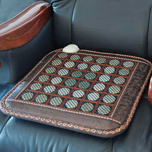 Free Shipping & Good! Natural Tourmaline Mat Infrared Heating Physical Therapy Mat Office Chair Heat Pad AC220