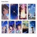 Japanese anime your name girl&boy hard White Case Cover for Huawei P7 P9 P8 Lite P9 Plus Mate 9 8 7 S Phone Case