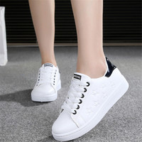 2017 Spring Women Sneakers White Running Shoes Jogging Woman Sport Shoes Star Leather Arena Athletic Shoes