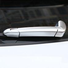 for jaguar f pace 2016 2017 2018 f pace x761 abs matt silver electronic parking handbrake e brake button knob trim For Jaguar F-Pace f pace X761 2016 2017 Car ABS Chrome Car Rear Window Wiper Arm Blade Cover Trim car accessories Styling 3pcs