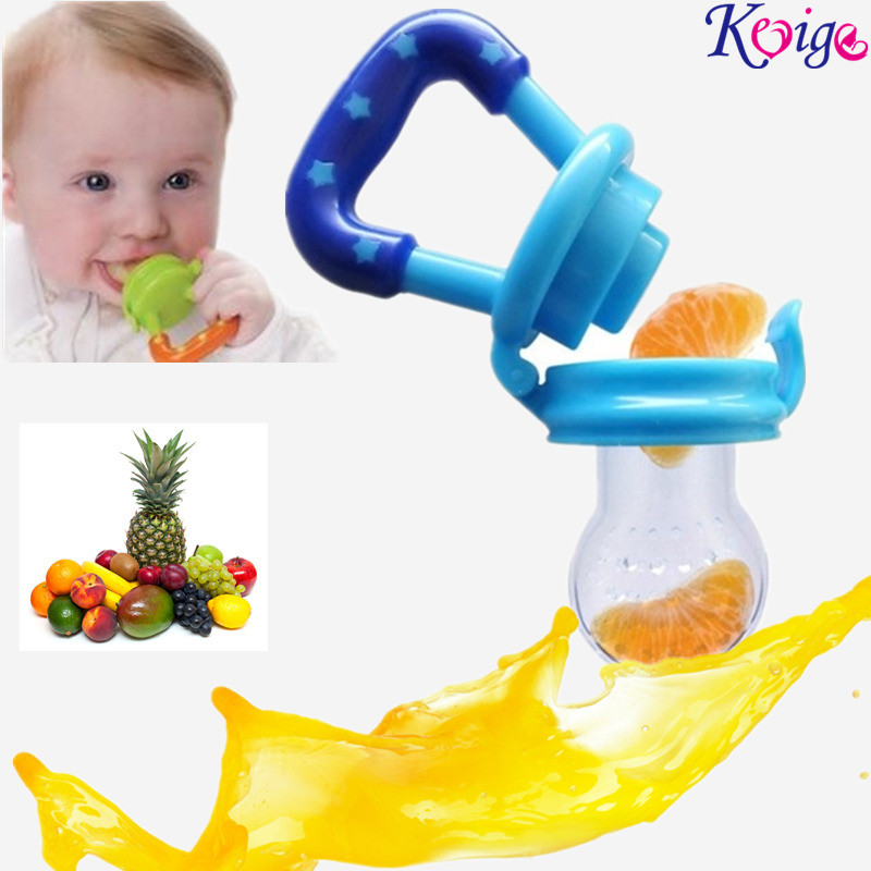 NEW Baby Pacifier Fresh Food Milk Nibbler Feeder Kids Nipple Feeding Safe Baby Supplies Nipple Teat 4 colours Pacifier Bottles