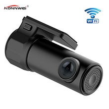 Мини Регистраторы dashcam WI-FI Видеорегистраторы для автомобилей HD1080P Камера цифровой регистратор Video Дорога видеокамера приложение Мониторы Ночное видение Беспроводной DVR