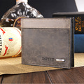 baellerry wallet New 2016 Men Quality Brand short Wallets Fashion Design Black Leather Credit Card carteira Masculin money clip