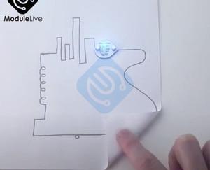 Image 5 - 6ml מוליך דיו עט זהב אלקטרוני מעגל לצייר באופן מיידי קסום עט מעגל DIY יצרנית תלמיד ילדי חינוך קסם מתנות