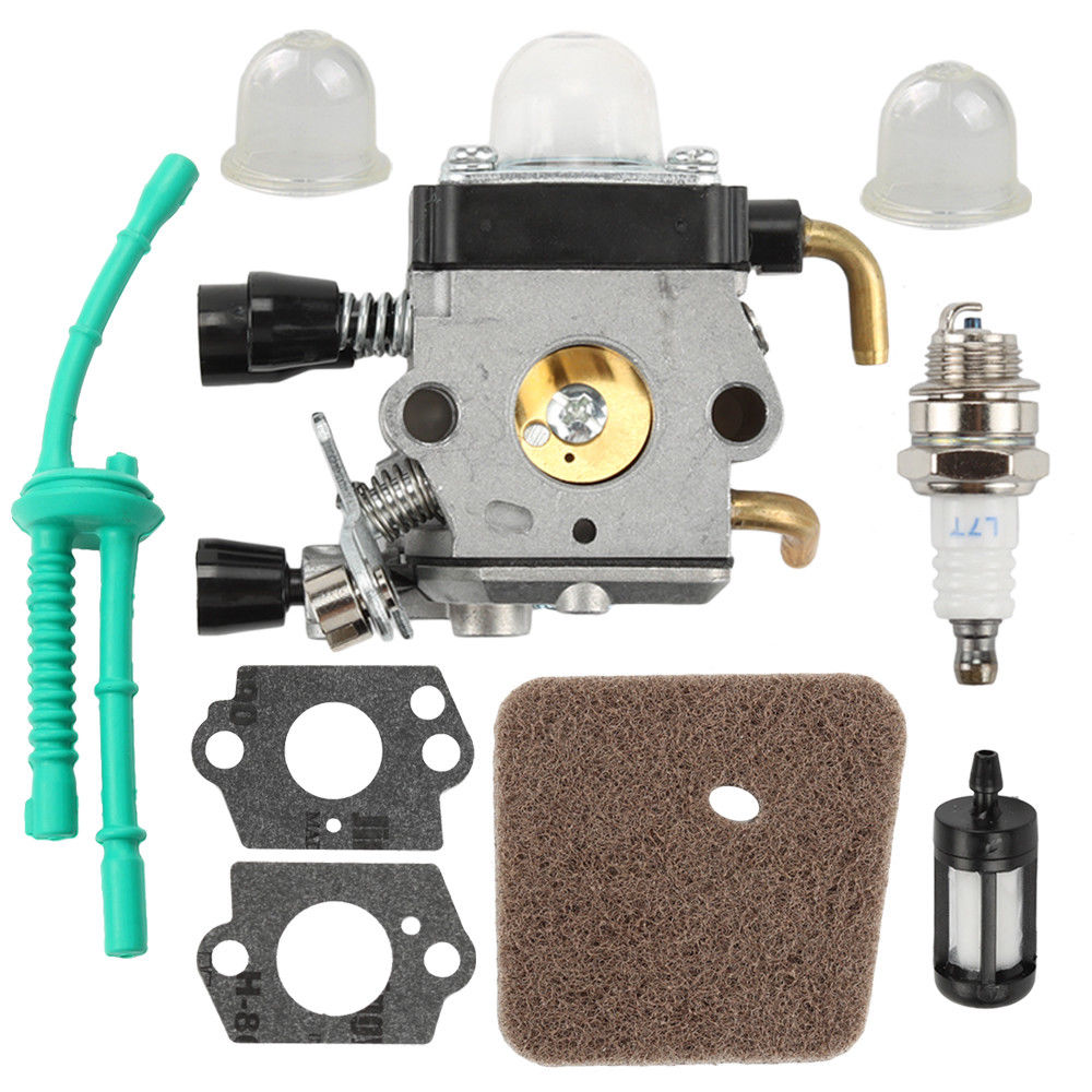 Carburetor for <font><b>STIHL</b></font> <font><b>FS38</b></font> FS55 FS45 FS46 KM55 FS85 Air Fuel filter Gasket Carb ZAMA C1Q-S66 image
