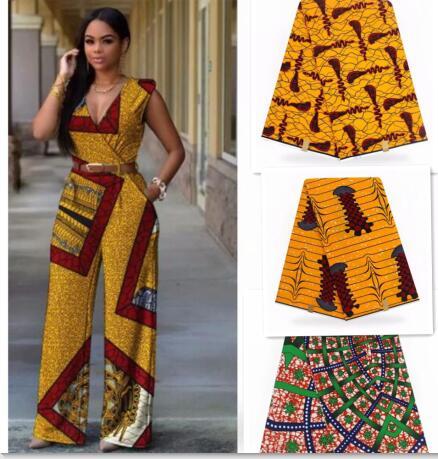 Home & Garden Buy Cheap Dutch Wax African Wax Hollandais For Sewing Dresses Hot Sale African Wax Fabric 2019 Latest Hojilou Nigerian Ankara Fabrics