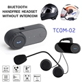 BT Bluetooth Inalámbrico Auriculares Cascos de Motocicleta de Control de Auriculares Para MP3/4 Radio iPod