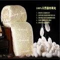 Morera edredón de seda satinada tela de algodón natural de algodón puro cuatro estaciones edredón