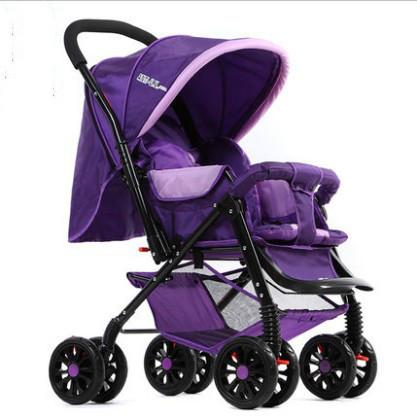 Carrinho de bebê carrinho de criança dobrável luz Beite two-way amortecedores carrinho de bebê de carro da criança