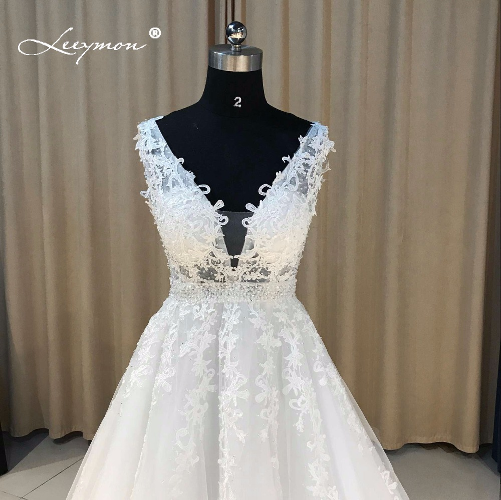 Leeymon Lace Applique A line Evening Dress Real Samples Beads Sequins  Crystal Celebrity Dress Long Elegant Prom Dress CE07-in Evening Dresses  from Weddings ... 7a5b3b3394b7