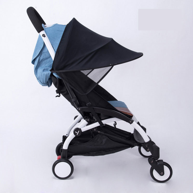 Baby Stroller Sunshade Canopy Cover For Prams compatible with Baby Yoya/yoyo Strollers Car Seat Buggy Pushchair Pram accessories-in Strollers Accessories ... & Baby Stroller Sunshade Canopy Cover For Prams compatible with Baby ...