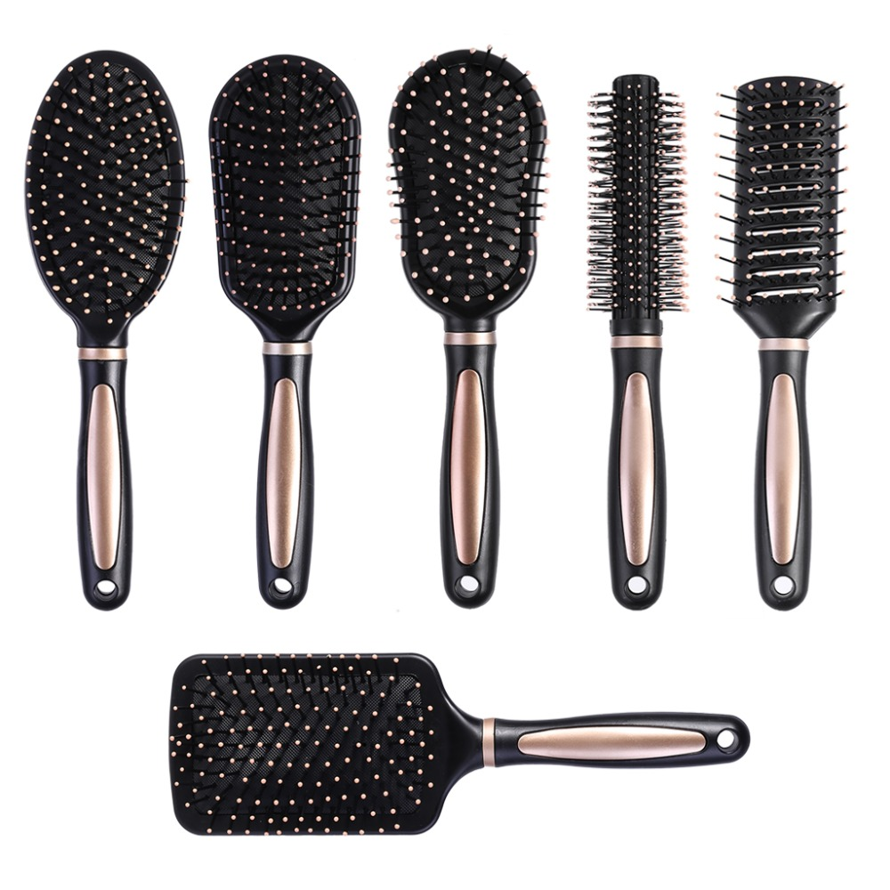 Kemei Air Bag Anti Static Comb Plastic Massage Anti Static Hair Brush Practical Care SPA Head Massager