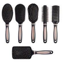 Kemei Air Bag Anti Static Comb Plastic Massage Anti Static Hair Brush Practical Care SPA Head Massager