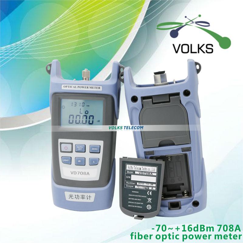 FTTH fiber optic power meter VD708A 70 10dBm free shipping