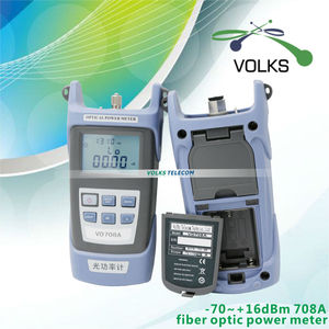 Image 2 - FTTH fiber optik güç ölçer VD708A VD708B ücretsiz kargo