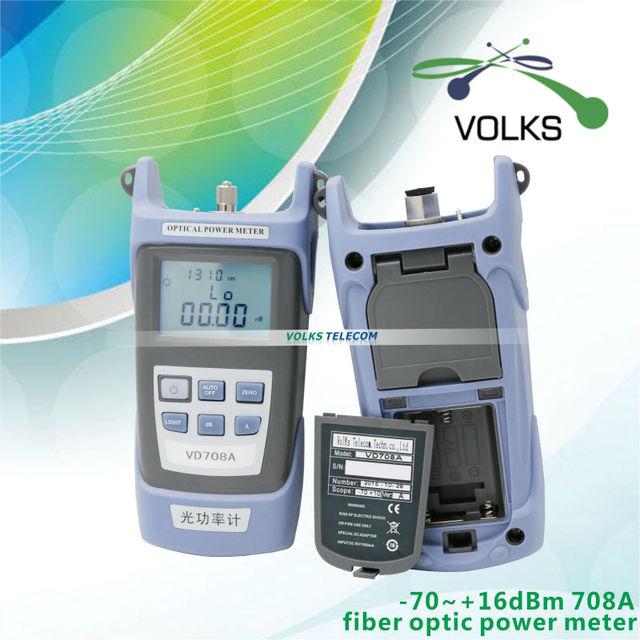 Medidor de potencia de fibra óptica FTTH VD708A-70 ~ $ number dbm envío gratis