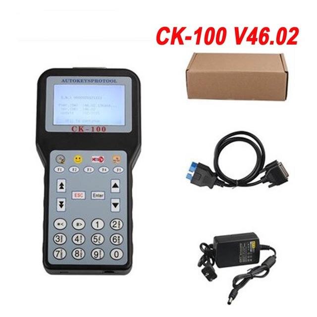V46.02 CK100 Auto Clé Programmeur V99.99 CK100 Date Génération CFF CK100 Auto Clé Programmeur CK100 avec 1024 Jetons