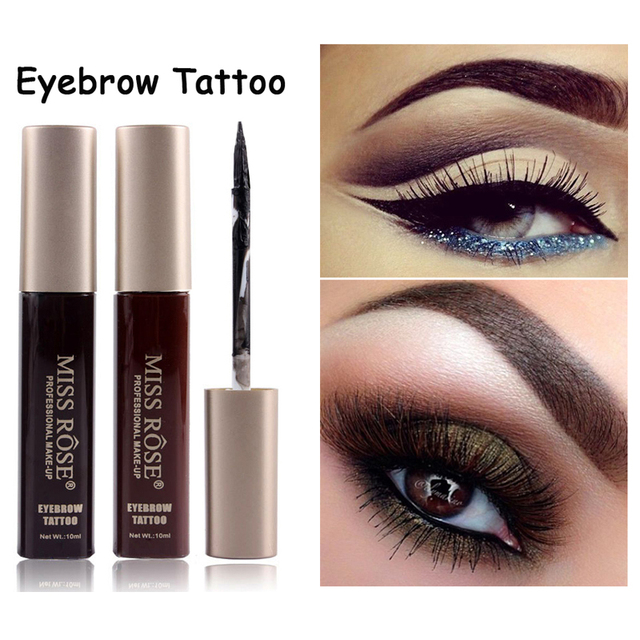 Brand miss rose easy to wear liquid tattoo eyebrow tint for Tattoo eyebrow tint