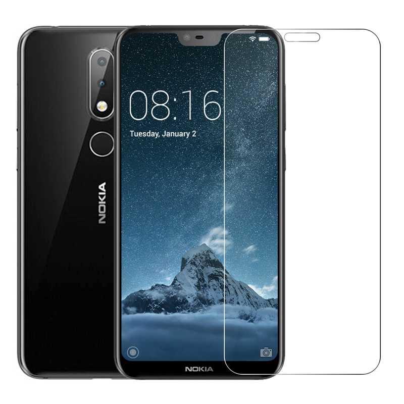 4 sztuk/partia ochraniacz ekranu ze szkła hartowanego dla Nokia 6 2018 5 3 2 8 7 Plus X6 1 Lumia 520 430 wybuchu folia odporna na