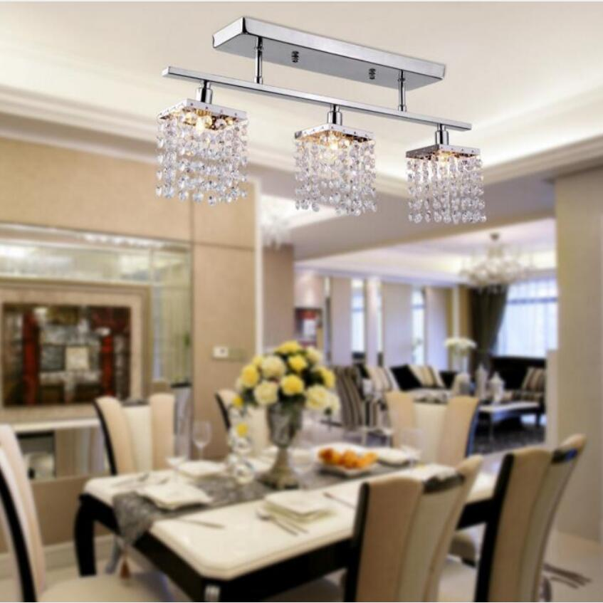 US $50.98 25% OFF|Moderne led K9 kristall decke lampe led lampen High power  G9 led Decke Lichter wohnzimmer lampen led glanz licht Decke lampen-in ...
