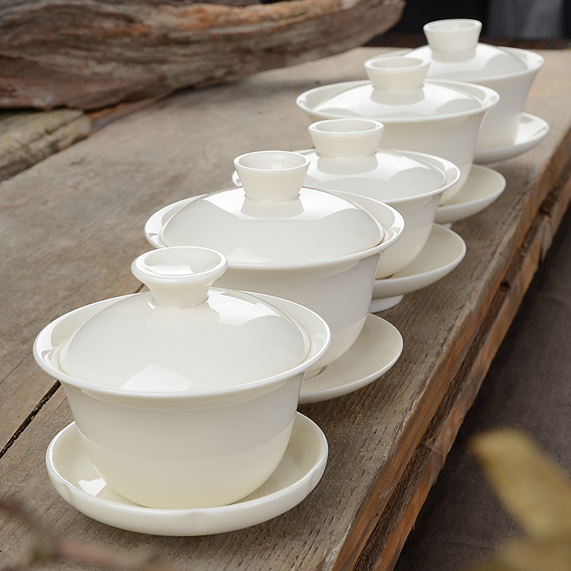Traditional Gaiwan Gong Fu Ceremony Bowls 1