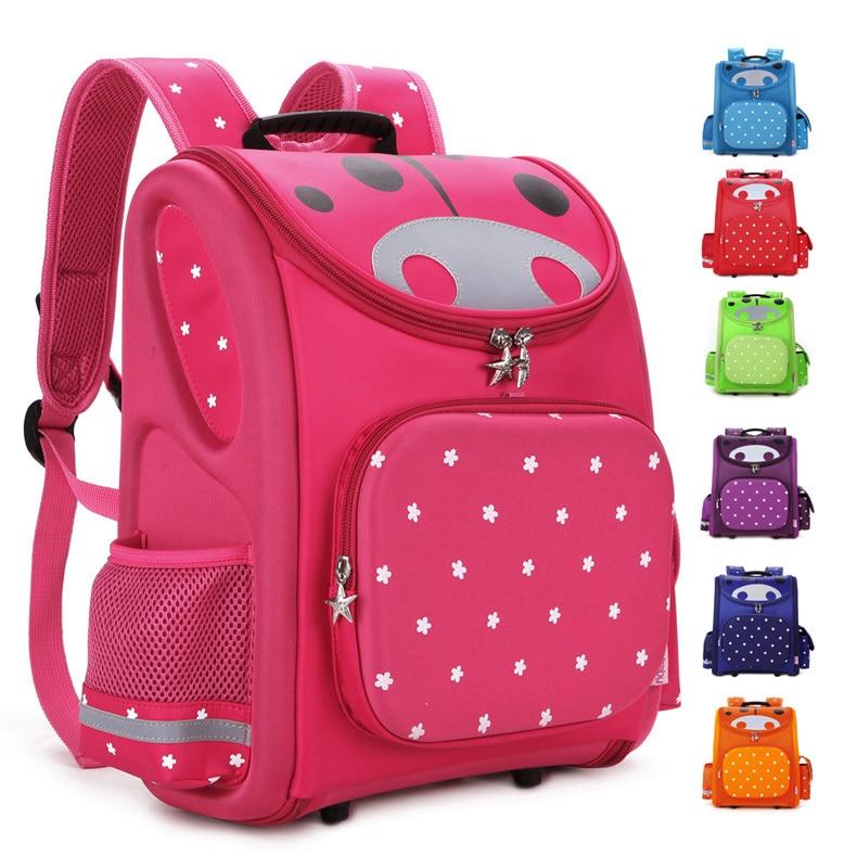 TOP Quality Children School Bag Orthopedic Backpack for Boys Girls Stars Kids Cartoon Mochila Infantil Kindergarten