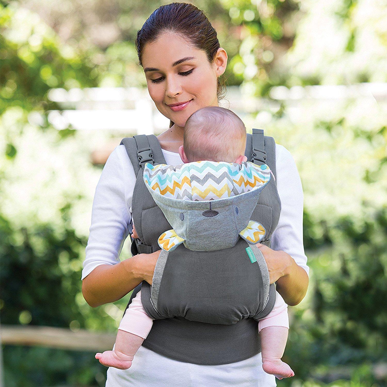 Baby Carrier Sling Portable Kind Bretels Rugzak Verdikking Schouders 360 Ergonomische Hoodie Kangoeroe Draagzak 1