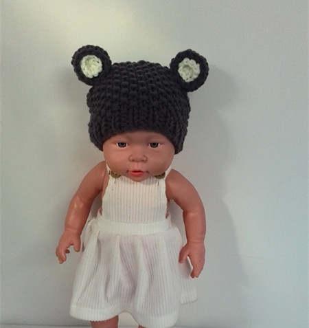 0e29479884c Online Shop Crochet teddy bear Hat