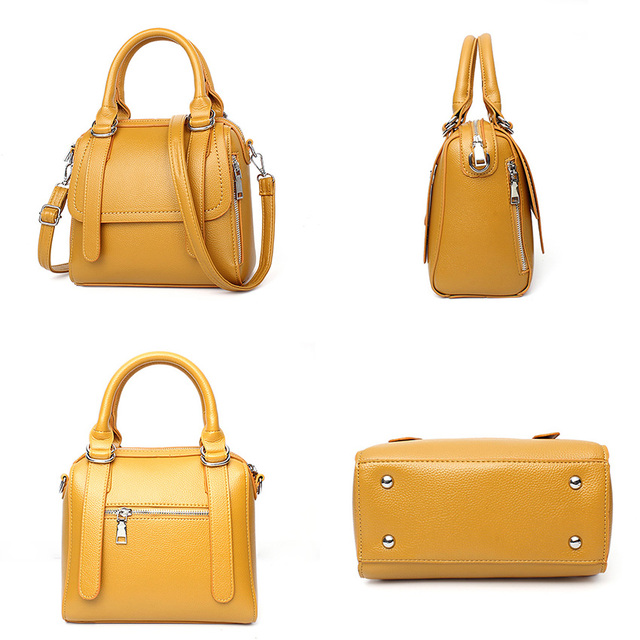 luxury handbags women bags designer brand famous ladies high quality Tote sac a main femme de marque luxe cuir 2017 pink yellow