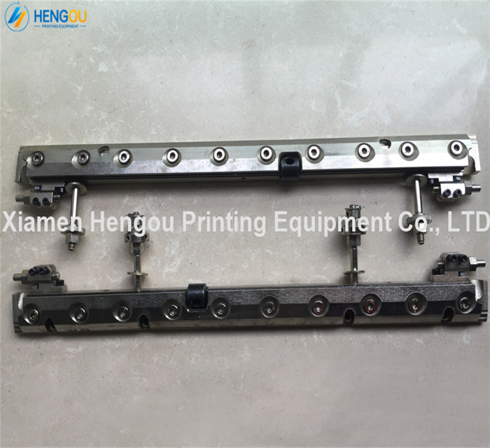 1 Set Heidelberg GTO52 Quick Action Plate Clamp for offset printing machine gto 52 plate clamp 1 piece 00 580 4473 03 automatic air bag plate clamp for heidelberg sm52 plate clamp 00 580 4473