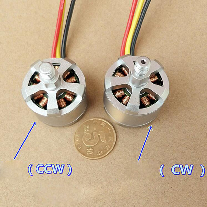 2212-KV920 Hight Quality 3 wire micro brushless electric motor Metal DC Motor For Diy model airplane 4 axle image
