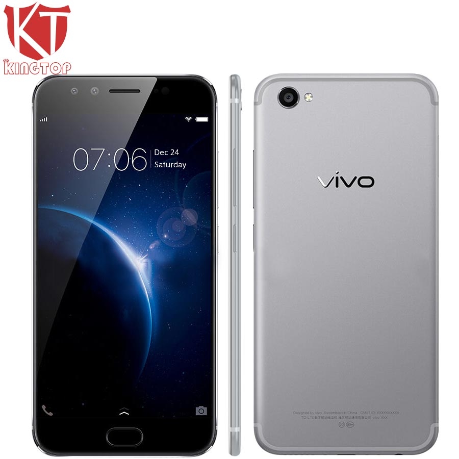 NEW Vivo X9Plus X9 Plus 5.88 inch Mobile Phone 6GB RAM 64GB ROM Octa Core Dual front Camera 20MP+5MP Hi-Fi 4000mAH Fingerprint
