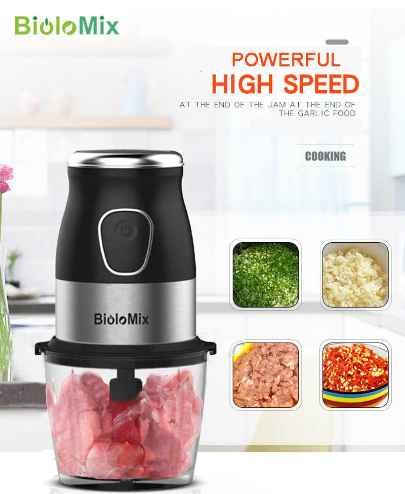 Ad alta Velocità Multi Funzione 500W Robot da Cucina a base di Carne Smerigliatrice Portatile Mini Personal Blender Mixer Spremiagrumi Secco Smerigliatrice 800ml chopper