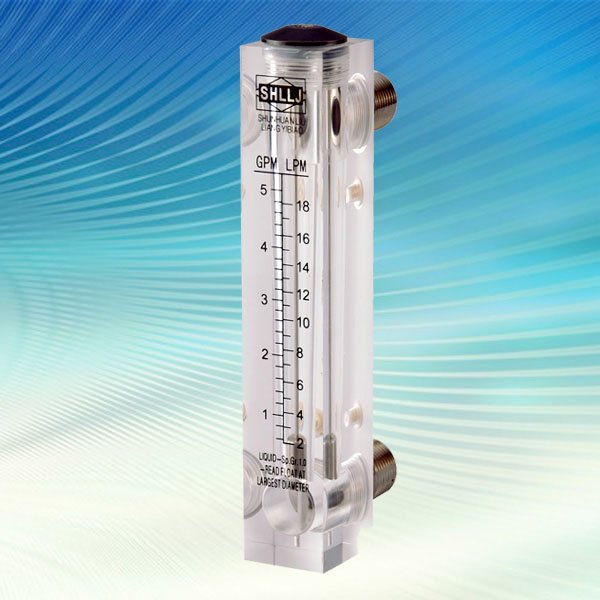 Lzm 15 Water Flow Meter Liquid Rotameter Flowmeter Flow