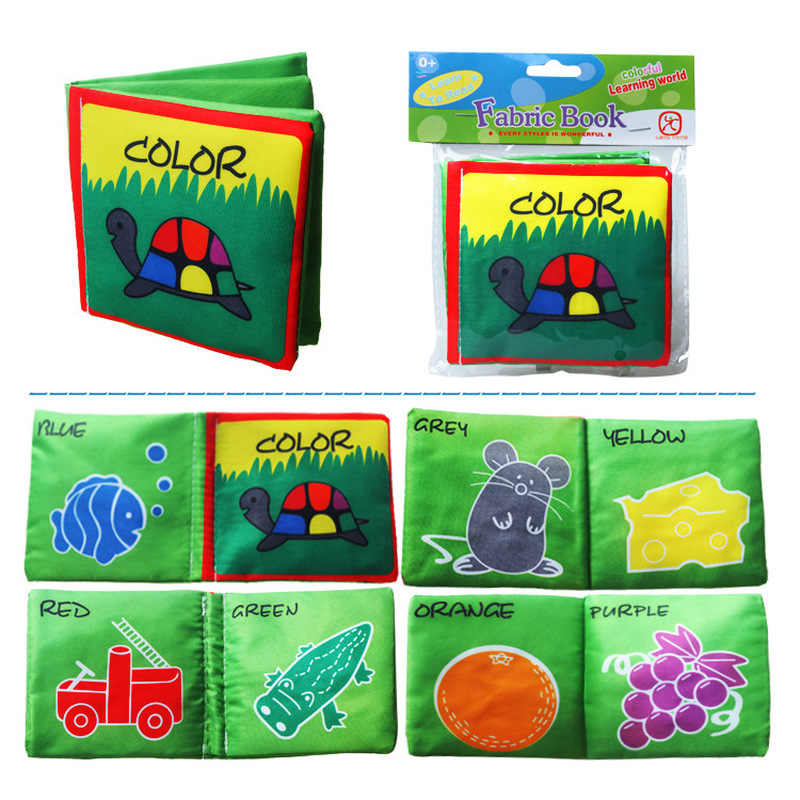 Weichen Tuch Bücher 4 Stil Baby Spielzeug Rascheln Sound Infant Pädagogisches Kinderwagen Rassel Spielzeug Neugeborenen Krippe Bett Baby Spielzeug 0 -36 monate