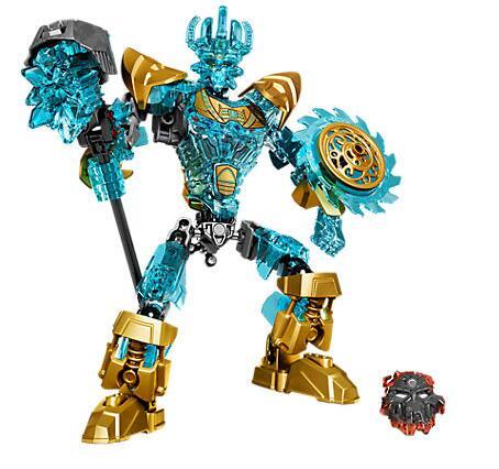 KSZ 613-1 Bioquímica Bionicle Ekimu o Fabricante de Máscara de Guerreiro Building Block Brinquedos Compatíveis Com Bela Bionicle 71312