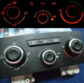 3PCS FIT FOR PEUGEOT 307 CITROEN C-TRIOMPHE SWITCH KNOB KNOBS HEATER CLIMATE CONTROL BUTTONS DIALS FRAME RING A/C AIR CON COVER