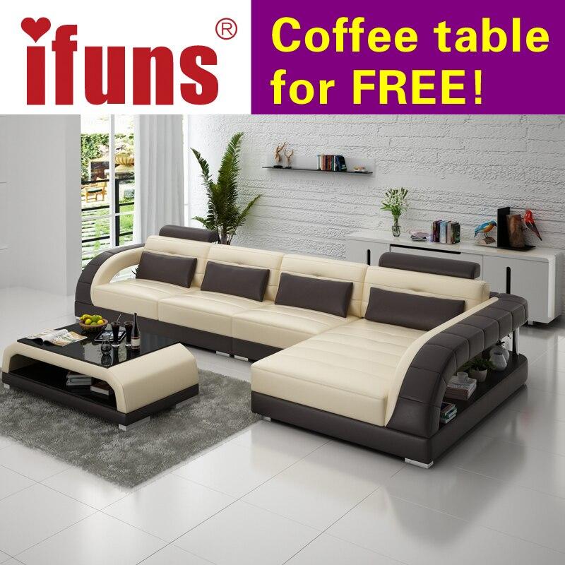 ifuns nuevo clsico blanco conjunto de sofs de estilo americano en forma de l de cuero reclinable muebles de la sala fabricaci