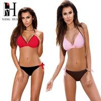 YANG HUA 2018 New Women Bikinis Swimwear Women S Swimwear Bikini Cross Brazilian Bikini Set Swimsuit