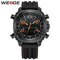 WEIDE Luxury Brand Мужчины Спортивные Часы мужские Кварцевые Цифровой СВЕТОДИОДНЫЙ Военные Часы Открытый Повседневная Наручные Часы Relogio Masculino