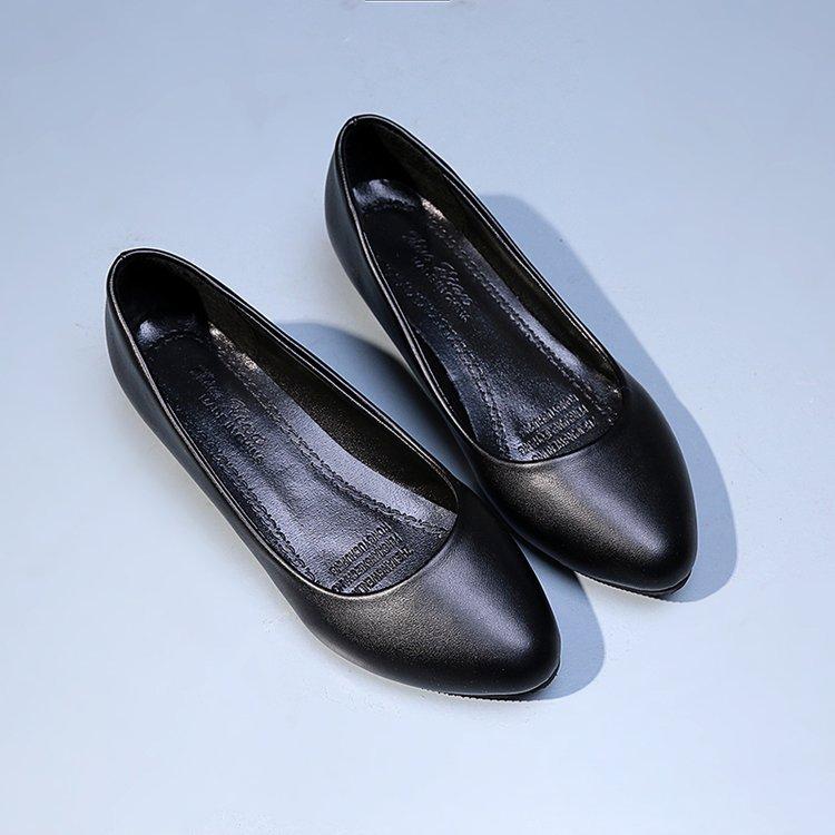 Femmes Nouveau Petit Profonde 2018 Chaussures Dame Grand Et Pompes Talon Code Printemps De Peu Travail 41 Haute Professionnel Noir Hôtel CUwwqdR