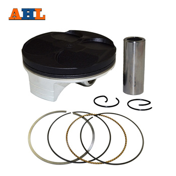 цена на AHL Motorcycle Engine Parts Bore size 78mm STD Piston & Ring & Clip Kit For HONDA CRF250 CRF250R 2004-2009 CRF250X CRF 250