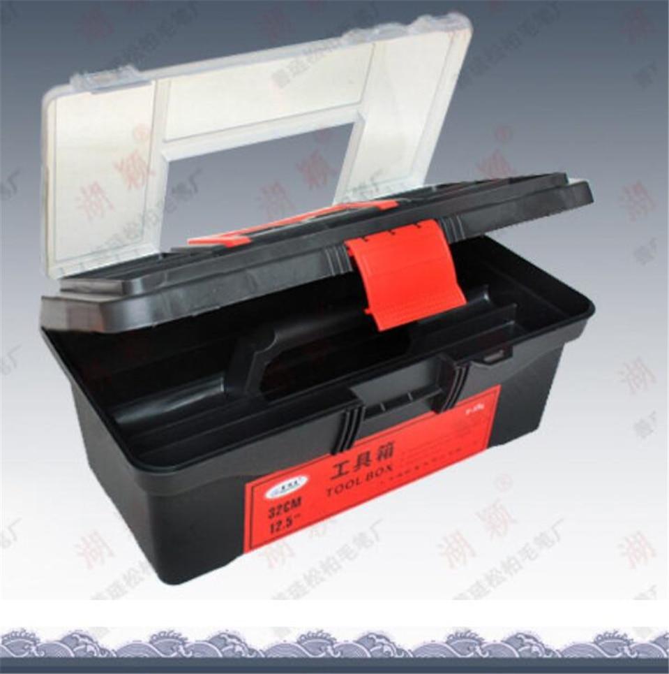 Multifunctional Toolbox Art Supplies Storage Box Art Toolbox Lightweight Tool Storage Box